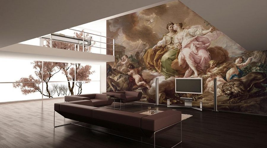 Mural Fresco Painting Artwork