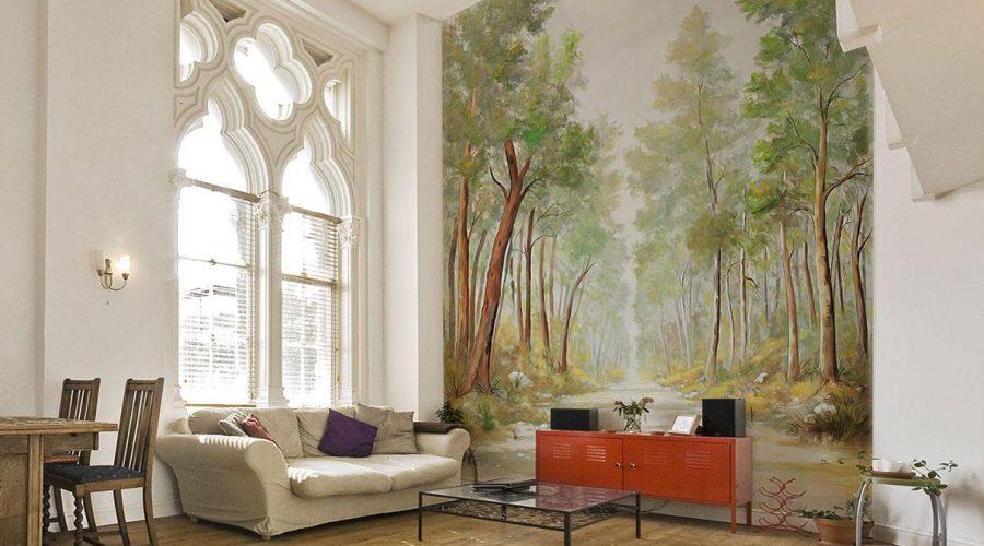 Mural Fresco Artwork Period House