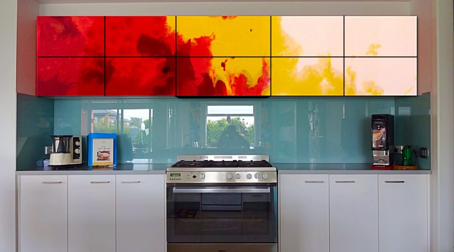 Proposal Of Artistic Resin: Kitchen