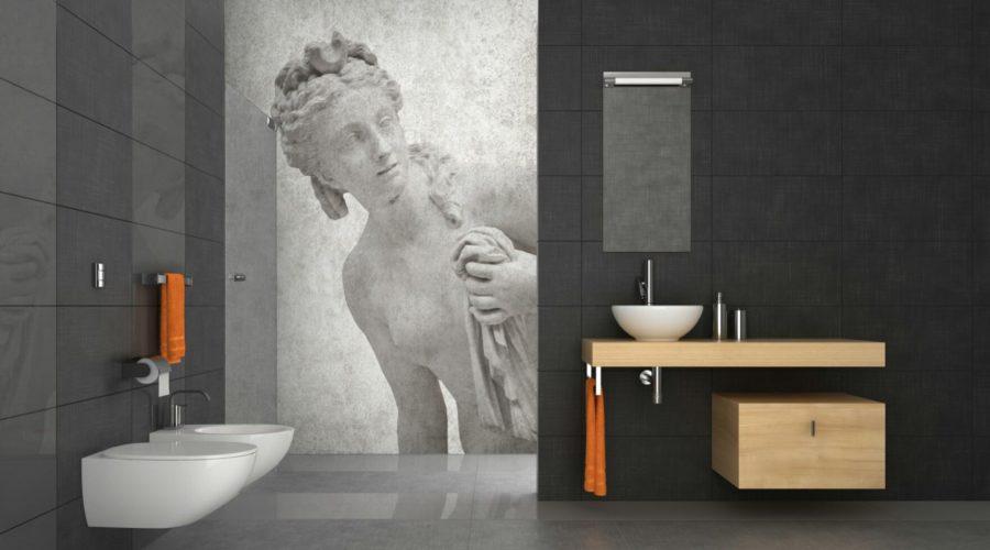 Mural Fresco Painting: Shower